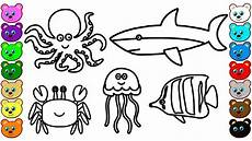 the sea animals coloring pages 17498 coloring for with sea animals coloring book for children