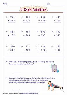 addition worksheets with regrouping 8757 adding two digits no regrouping worksheets digit subtraction with no regrouping