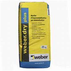 Mortier D Imperm 233 Abilisation Weber Plus Sac De 25kg