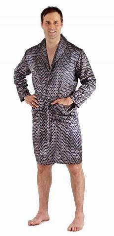 robe de chambre homme satin peignoir homme satin kimono soie robe de chambre col ch 226 le
