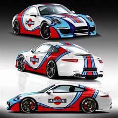 porsche gt3 martini racing car truck or wrap contest