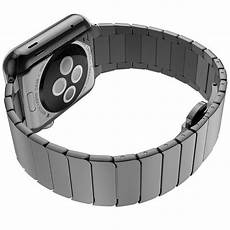 Luxury Stainles Steel Band by Luxury Stainless Steel Apple Bands Black