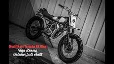 Modifikasi Motor Jadi Sepeda Bmx by Modifikasi Yamaha Rx King Lawless Garage Jakarta Tiga