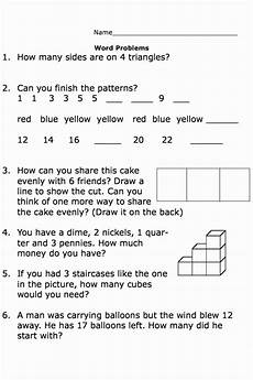 free printable word problem worksheets for 1st grade 11209 math word problems 1st grade world of reference