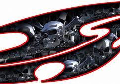 Car Skull Decals Truck Graphic Skulls Semi Chrome