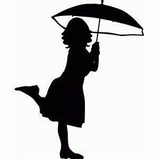 Le Frau Mit Schirm - silhouette design store view design 56452 with