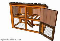 rabbit housing plans rabbit house plans myoutdoorplans free woodworking