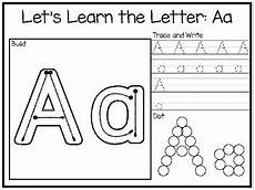 letter a tracing worksheets preschool 23838 let s learn the letters build trace and write and dot preschool phonics worksh