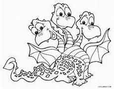 Malvorlagen Dragons Indo Coloring Headed Pages Three 2020 In 2020