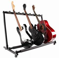 Guitar Stand 9 Holder Guitar Folding Stand Rack Band Stage