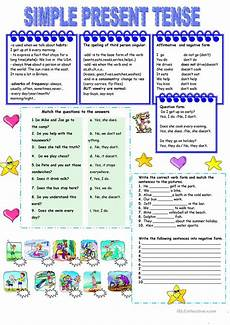 simple present tense worksheets islcollective present simple tense worksheet free esl printable