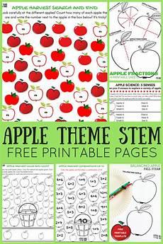 apple worksheets for preschool little bins for little