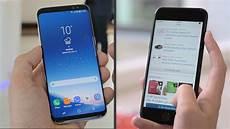 Samsung Galaxy S8 Vs Iphone 7 Die Handy Giganten Im