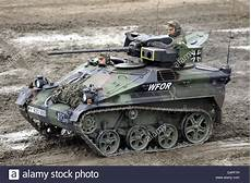 a bundeswehr wiesel infantry tanks seen during the