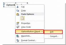 how to insert radio button in microsoft word document