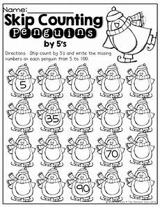 skip counting by 5 worksheets for kindergarten 12018 skip counting penguins count by 5 s kindergarten math skip counting 5 s and