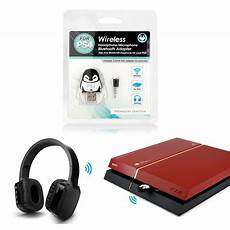 Bluetooth Wireless Headset Headphone Adapter With Mic For