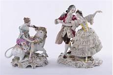 ladario porcellana di capodimonte due gruppi in porcellana capodimonte raffiguranti scena