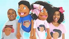 shiloh and shasha turn into puppets onyx kids youtube