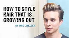 How To Style Growing Out Hair how to style hair growing out ditching the undercut