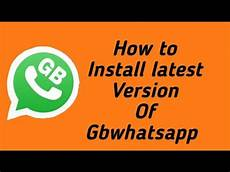 gb whatsapp apk latest version 7 60 download for android 2018 youtube
