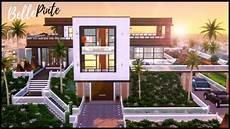 Les Sims 4 Speed Build Maison Moderne Et Histoire D