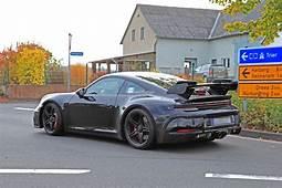 2020 Porsche 911 GT3 Prototype Shows Production Body Huge