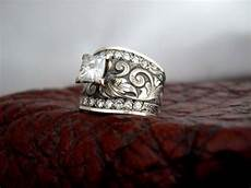 western wedding rings western wedding custom made western wedding rings by travis stringer