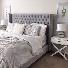 Bedroom Decorating Ideas With Gray Bed by Sweet Dreams Are Made Of This Our Roberto Bed Pops In