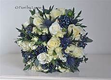 Navy And White Wedding Flowers