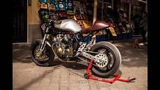 suzuki bandit cafe racer custom by xtr
