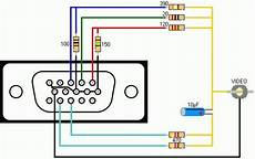 Vga Wiring Diagram Vga Cable Color Code Diagram Wiring