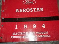 1994 Ford Aerostar Wiring Diagrams Electrical Service