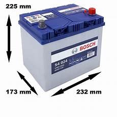 Bosch Starterbatterie S4 024 60ah 540a 12v Atp Autoteile