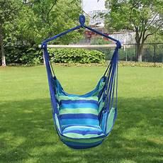 hanging swing hanging rope hammock swing seat outdoor indoor swinging