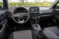 2018 Hyundai Kona Front Interior Motortrend