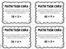 probability worksheets cards 5723 3 oa 6 3rd grade math task cards division as unknown factor problem