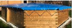 Schwimmbadabdeckung Plane - aufblasbare poolabdeckung direkt vom hersteller ab 199