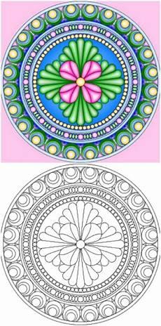 15 amazingly relaxing free printable mandala coloring