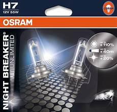 h7 osram breaker unlimited blister pack