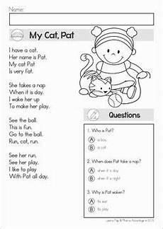 reading comprehension fluency phonics poems literacy reading comprehension phonics