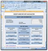 Credit Card Payoff Calculator Download