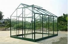 serre verte 86 en verre tremp 4 65 m chalet jardin