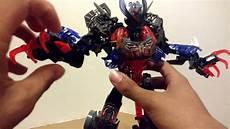 malvorlagen lego bionicle lego bionicle moc review 2 makuta combiner model
