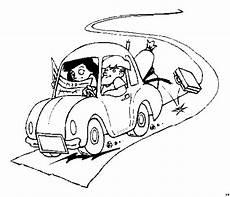 Gratis Malvorlagen Urlaub Urlaub Autofahrt Ausmalbild Malvorlage Die Weite Welt