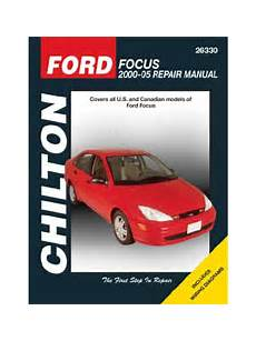 chilton car manuals free download 2005 ford thunderbird electronic valve timing ford focus repair manual