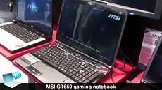 msi gt660 gaming notebook nvidia geforce gtx 285m