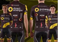 equipe direct energie 2017 maillot team direct energie 2017 identique 224 2016