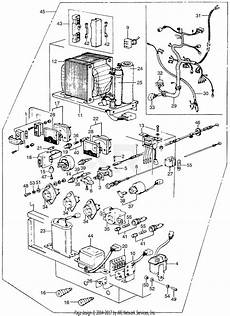 honda em5000 a generator jpn vin em5000 1000016 parts