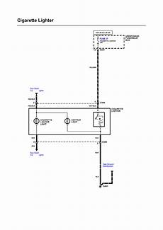 Wiring Diagram For Cigarette Lighter by Repair Guides Wiring Diagrams Wiring Diagrams 54 Of